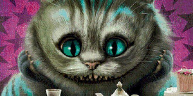 Днем повара, открытки с днем рождения чеширский кот