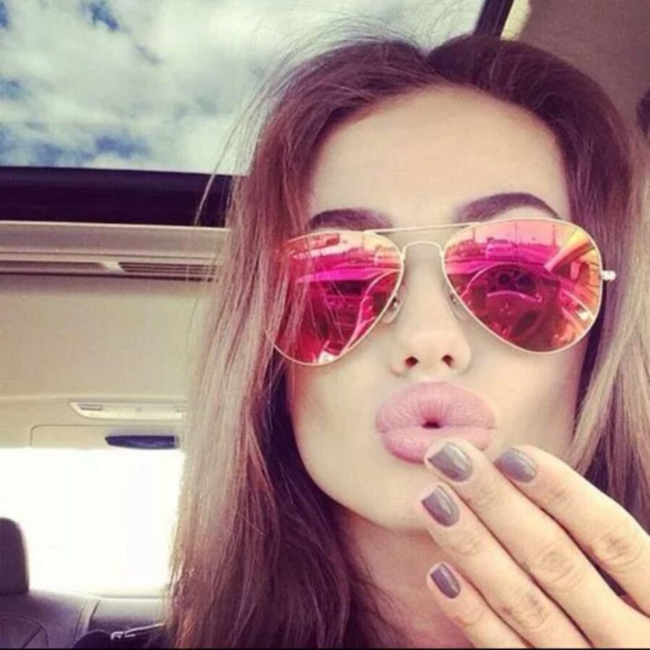 3. Розовые очки