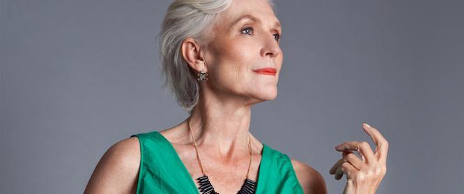 Правила здоровья 67-летней модели Мэй Маск