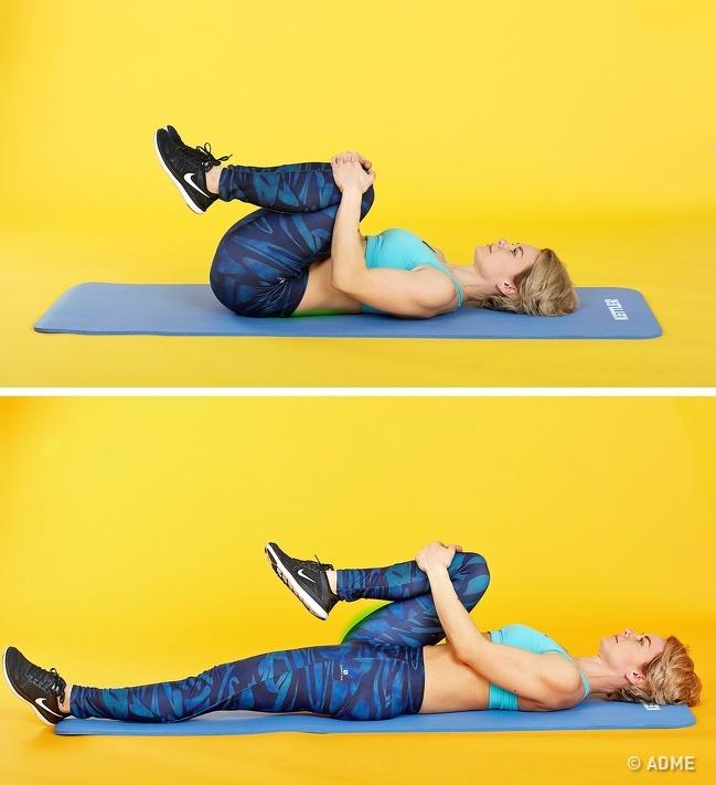 5упражнений для спины, создающих ощущение, как после хорошего массажа