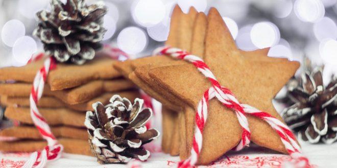 Домашнее имбирное печенье к Новому году