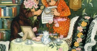 Когда Инге Лёёк была маленькой девочкой, по соседству с квартирой ее родителей жили две пожилые дамы - Алли и Фифи. Старушки отличались веселым нравом и настолько запомнились Инге, что впоследствии вдохновили ее на целую серию открыток, рассказывающих о жизни бесшабашных неунывающих подруг.